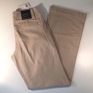 Banana Republic Khaki Dress Pants - Contoured Fit